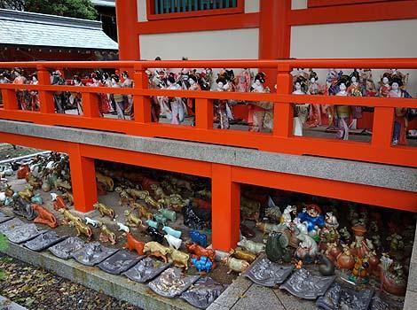 淡嶋神社(和歌山加太)人形供養の社・B級珍スポット
