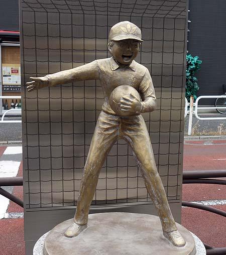 東京の四つ木はキャプテン翼ファンにとっては聖地ですね♪銅像めぐり(東京立石~四つ木)