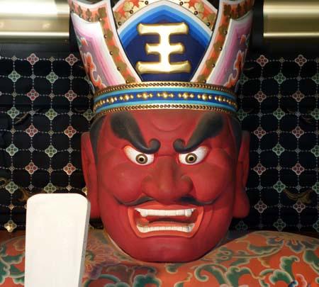 インパクトあるハイテク閻魔様がお賽銭入れると説法くださいます「深川ゑんま堂」(東京深川)
