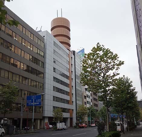 コンドーム最大手の会社は社屋までコンドームだった!「不二ラテックス本社」(東京神田橋)珍建築