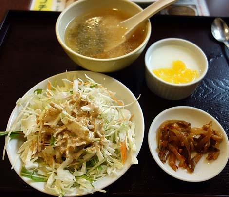 晴々飯店[セイセイハンテン](東京上野)ネイティブ営業大衆中華屋の上海焼きそば定食