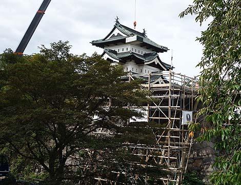 日本最北端にある3層3階の現存城です「弘前城」(青森弘前)