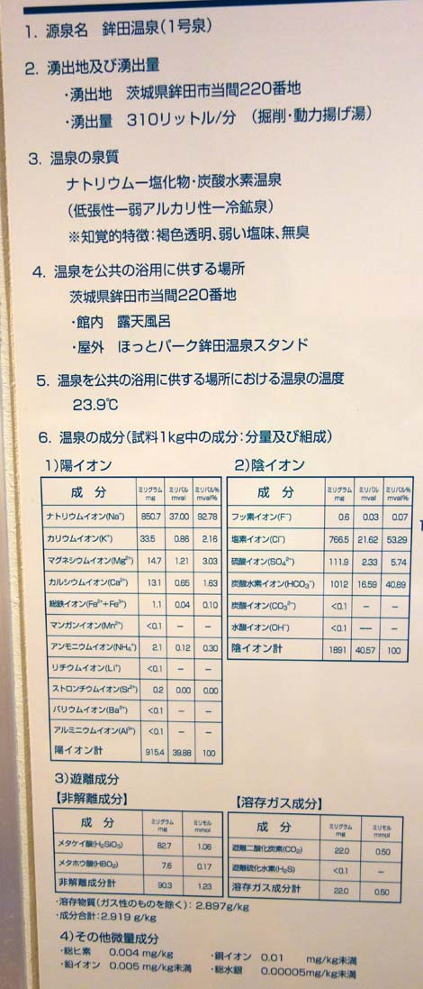 2種類の天然温泉・プールを兼ね備えたリラクゼーション「ほっとパーク鉾田」(茨城鉾田)