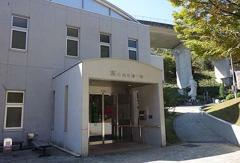 非常に明るい道の駅併設の温浴施設「霧の森交湯~館」(愛媛四国中央)
