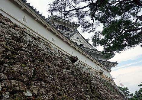 山内一豊が築城した現存城「高知城」(高知市)