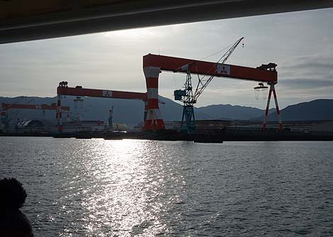 「長崎港」をクルーズ船でぶらぶらと・・・(年末年始九州旅8日目の朝)