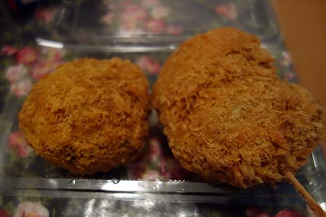 銀座さとう(東京)吉祥寺の行列有名お肉屋のメンチカツがここでも購入できる!