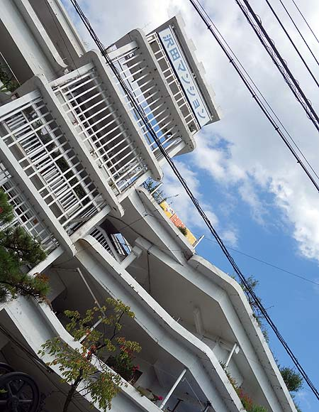 日本のサクラダファミリアと呼ばれる家主さんお手製珍建築「沢田マンション」(高知市)