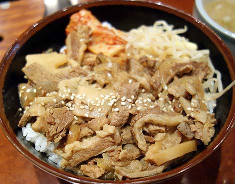 焼肉 上野 太昌園 本店(東京)ランチタイムの牛丼の質はさすが!ですね