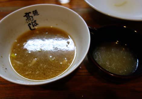 麺 高はし(東京赤羽)600円と安価であるのにハイレベルなつけそばの行列店