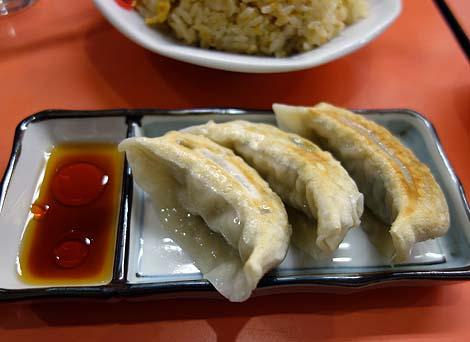 珍來[珍来](東京北千住)東京東部より東側では有名な中華料理チェーン店のチャーハンと餃子
