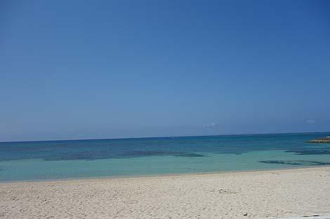 那覇からすぐ!人工ビーチではあるがその開放感は最高♪「豊崎美らSUNビーチ」(沖縄豊見城)