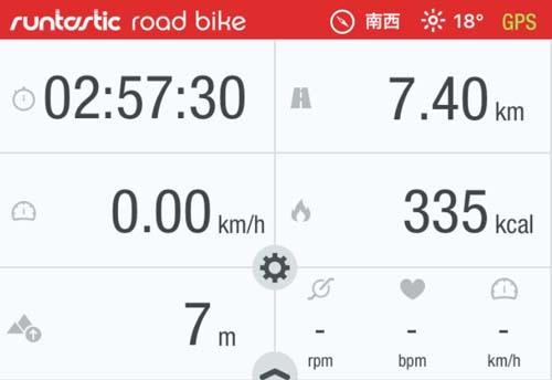 「runtastic road bike」サイコンアプリがアップデート後使いもんになんなくなったんで計測やめます