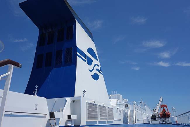 のんびり優雅な船上生活での1日・・・太平洋フェリー「いしかり」(日本一周367日目)