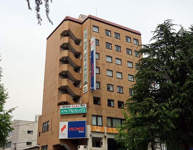 1泊朝食つき4260円の平均的なビジネスホテルを選ばざる得なかった・・・「ホテルアルフレックス徳山駅前」(広島周南)