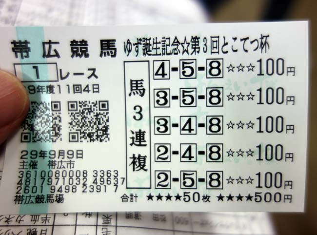 ギャンブル運の神様は俺に味方する?ばんえい競馬とモール温泉の地「帯広」へ!(100%源泉かけ流しホテル巡り2日目前編)