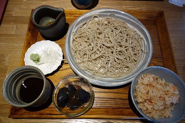 堂源 (兵庫神戸元町)神戸では非常に珍しい高レベルのせいろそば!平日限定ランチ