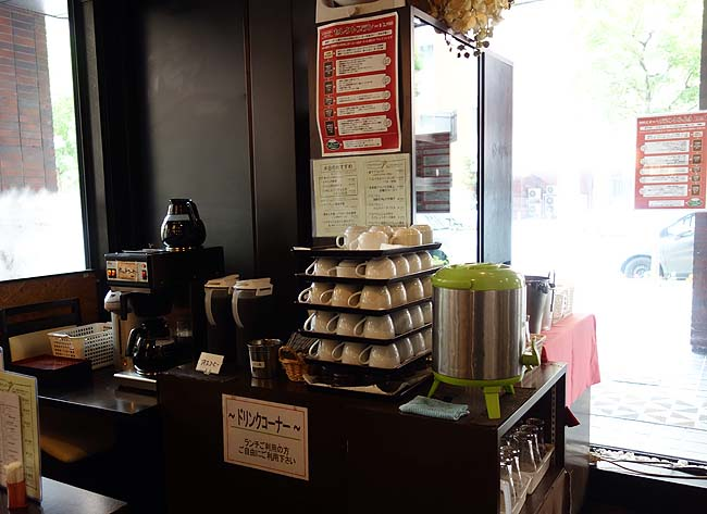 福久樓[ふくろう](北海道札幌)ワンコイン500円のランチはライス・キャベツも食べ放題でドリンクも飲み放題