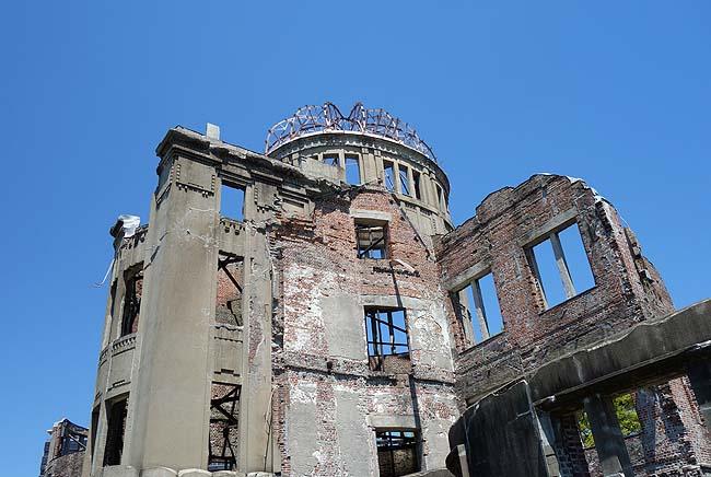 広島市に突入!この町は戦時遺産を巡る旅では避けて通れない場所であります(日本一周335日目前編)
