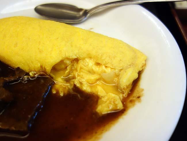 洋食 ラミ[L'Ami](神戸元町)ホテル本格洋食風の「ビーフシチューオムレツ」をランチで