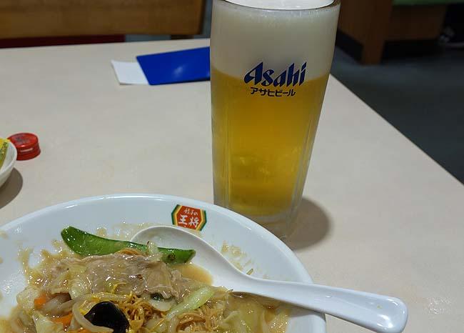 餃子の王将 アリオ札幌店(北海道)90分飲み放題980円やアテ用の小サイズがある全国的にも珍しい王将店