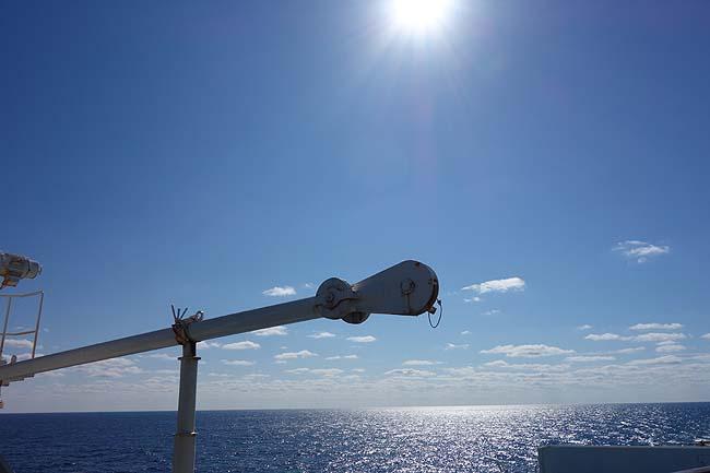 実は北海道へUターンするわたくしめ(^^;)新日本海フェリーにて洋上で過ごす1日