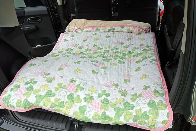 知床で3年ぶりの車中泊!しかしワゴンバンタイプでない軽自動車でいかにデブ2人が寝る?