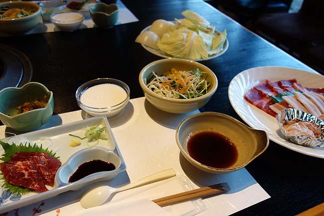 アーデンホテル阿蘇(熊本)夕食は併設日帰り入浴施設での焼肉セットでビールをあおる♪