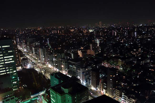 文京シビックセンター展望ラウンジ(東京後楽園)地上約100mから東京を360度見渡せる無料夜景スポット