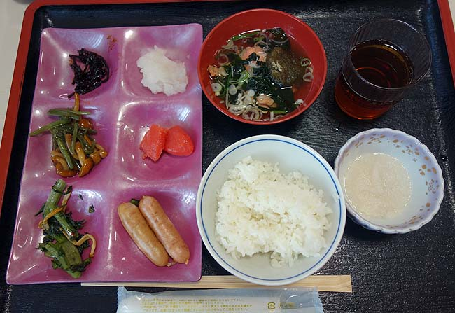 塩別つるつる温泉(北海道北見)夕食も豪華であったが朝もその品数の豊富さが素晴らしい[朝食バイキング編]