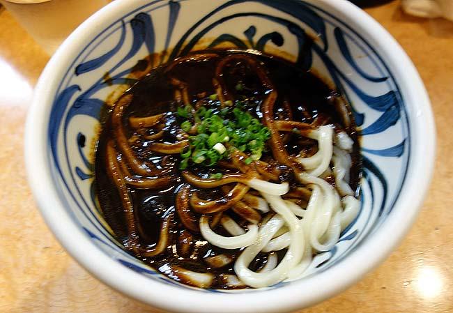 饂飩家 五右衛門(香川高松)カレーうどんが素晴らしいって評判の店で黒カレーうどん