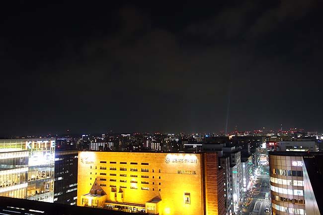 つばめの杜ひろば(福岡)博多駅ビルの屋上は博多夜景を無料で見ることができる絶景ポイント!