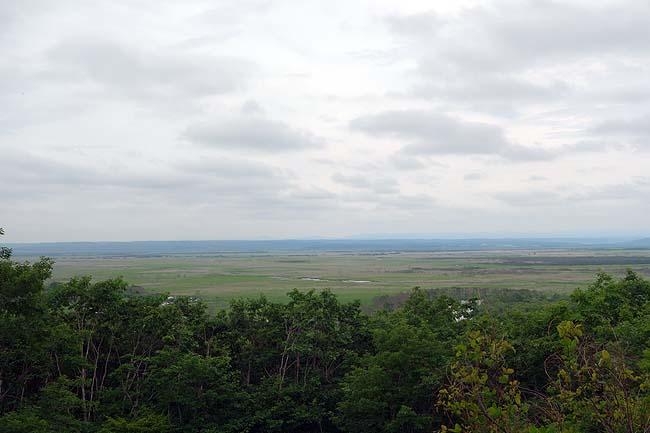細岡展望台(北海道)釧路湿原を東から展望するには絶好な無料利用ポイントです