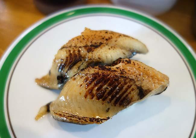 回転寿し かに源(北海道)網走だけに位置するローカル回転寿司は地物の魚がいっぱい♪