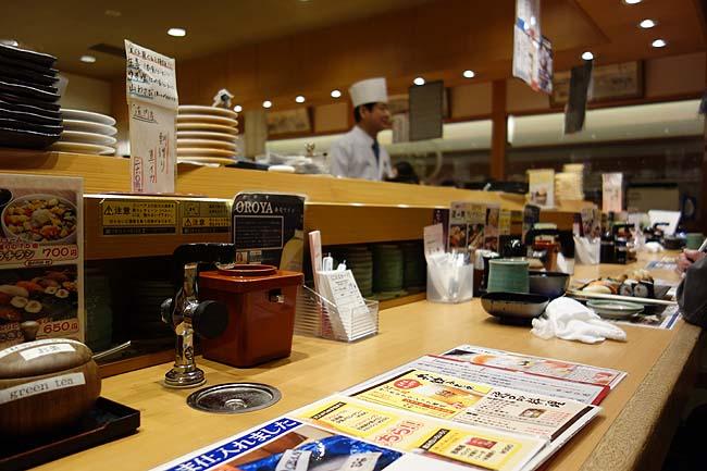 回転すし 活一鮮 南3条店(北海道札幌すすきの)1皿平均300円を超える高級店で650円の平日限定ランチ握り