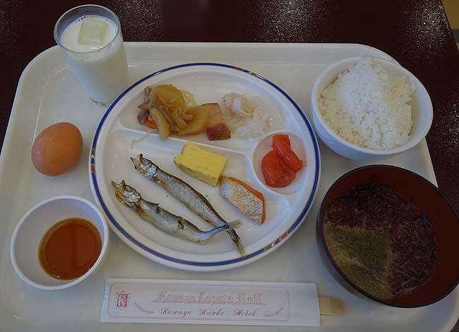 「川湯観光ホテル」での朝食バイキングで今日も食い溜め♪そして「神の子池」の神秘さに魅入られる