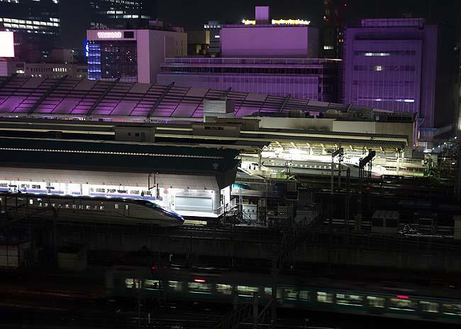 東京駅方面の夜景を楽しむにはここが一番!しかし牛丼かつ丼でもこんなレベル高いローカル店があるんやね