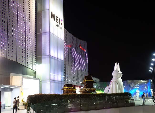 MBK[マーブンクローンセンター](タイバンコク/ナショナル・スタジアム駅)6階庶民派フードコートでカオマンガイ