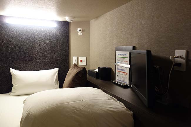 BIZCOURT CABIN すすきの(北海道)ルートインホテルグループの新しい形態カプセルホテル