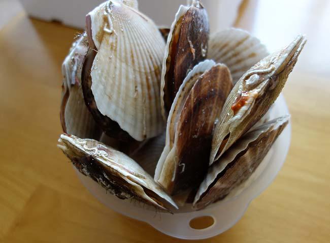 ウニ・ホタテ・甘海老の海鮮三昧丼をアテにの晩酌・・・こんなに贅沢してええのか至福の時♪