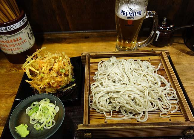 大手牛丼チェーン?「丼太郎」ってどんな店?十割そばとプレモル150円そして銀座夜景を見下ろすビールも最高だ
