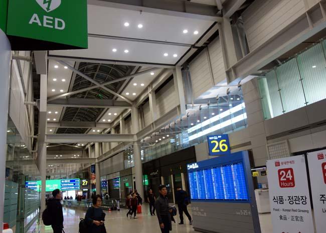 仁川空港で最後のめしは「ロッテリア」さらばソウル!またこの街はやって来たいね♪