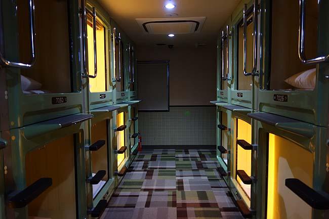 新宿区役所前カプセルホテル(東京)新宿ど真ん中の繁華街で宿泊出来てなんと2300円は激安!