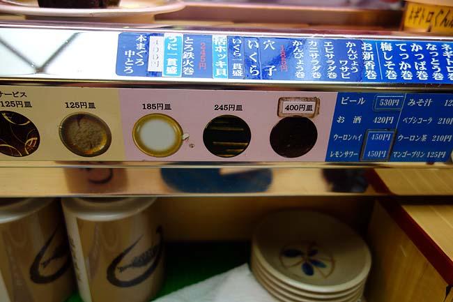 天下寿司(東京池袋)1皿125円~と安価でいただける回転寿司はなかなかのCP値です