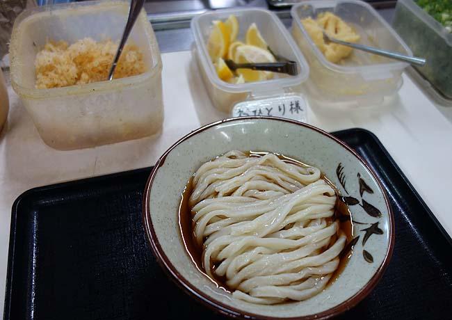 うぶしな(香川綾歌郡)今回の香川ママチャリ旅では最高に旨かったぶっかけうどん