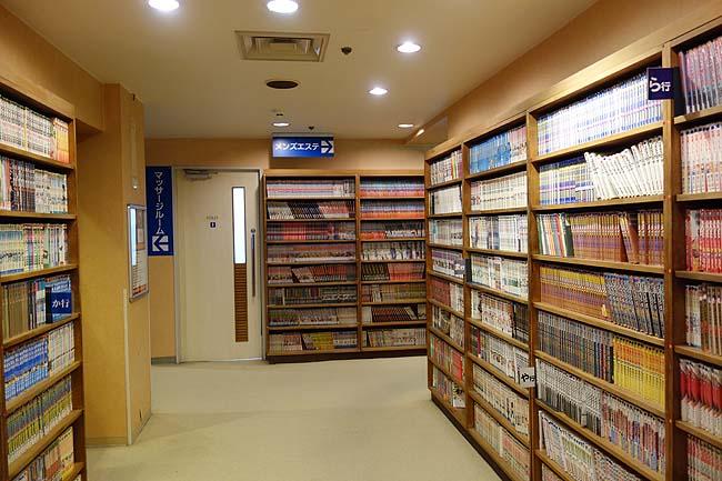 サウナ&カプセルホテル ウェルビー栄(愛知)名古屋らしいゴージャス設備系のカプセルホテルです[施設編]