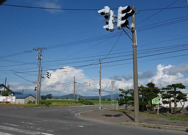札幌のあの店に立ち寄った後…道の駅「滝川」で牛乳風味たっぷりソフトクリーム休憩です