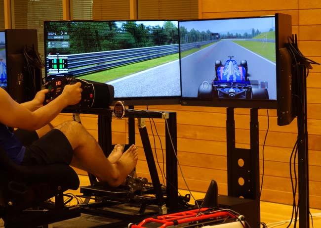 F1ドライブの難しさを身を持って知る「ホンダレーシングシミュレーション」たかす熱夏フェスタ2019