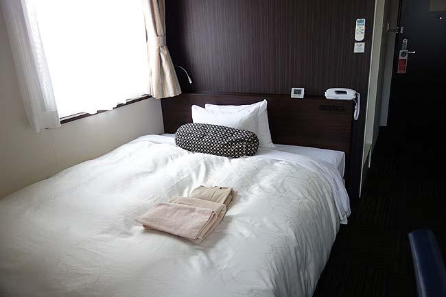 青森で濃厚煮干し中華そば♪そしてこの避寒旅初の天然温泉付きホテルで宿泊です