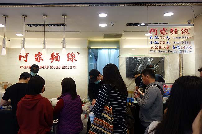 「阿宗麺線」今回の台湾旅でナンバー1CP値グルメで立ち食い200円麺料理(西面)